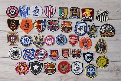 Official Embroidered Patch World Football Clubs and National teams Soccer Badge