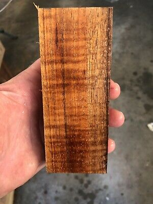 1 Beautiful Extra Curly Block Of Koa For Scales/handles/grips