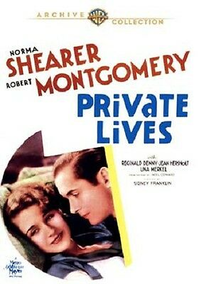 Private Lives 1931 Norma Shearer, una Merkel,Robert Montgomery,Sidney Franklin