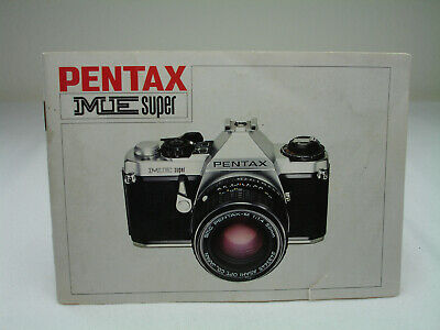 PENTAX ME SUPER Instruction Manual. English #3044