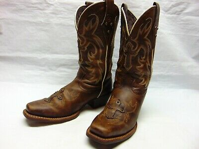 e14f40b0fe9 ARIAT 10007953 WOMEN'S 7.5 B Legend Spirit Western Cowgirl Boots - Brown  Leather