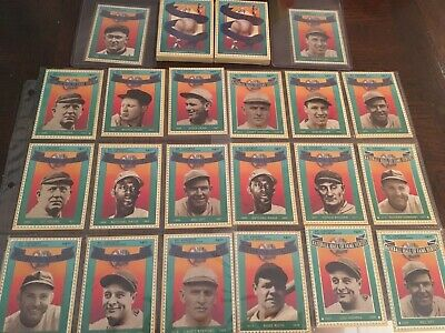 St Vincent And The Grenadines Baseball Hall Of Fame Heroes Set. 1992. 3 sets