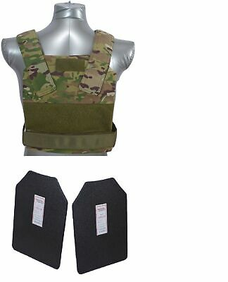 Tactical Scorpion Body Armor Bobcat 11x14 Concealable Level IIIA Hard  Multicam