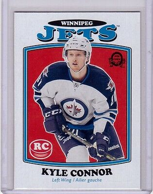 KYLE CONNOR 16/17 Upper Deck O-Pee-Chee OPC Update Retro Rookie SP #676 Card