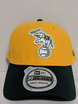 79eb2abb NWT New Era Oakland Athletics A's Elephant Fitted 39Thirty Reverse Hat Size  ...