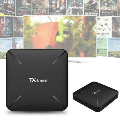 2G+16G TX6 Mini For Android9.0 KODI 17.6 2.4G WiFi H6 TV Box Media Player Newest