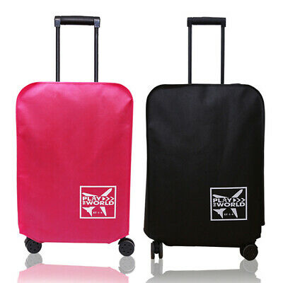 Waterproof Travel Luggage Cover Protector Elastic Suitcase Scratch-Resistant AU