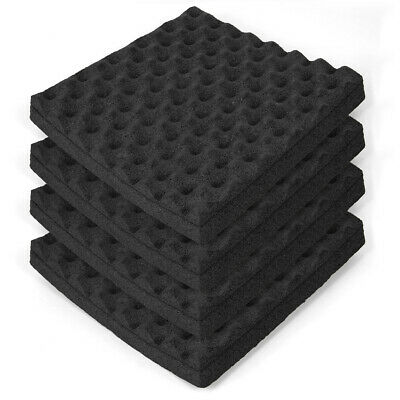 4 Pack Soundproofing Foam Wall Acoustic Panels for Sound Proof Recording Room