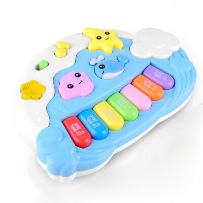 Childrens Cartoon Keyboard Toys Kids Electric Animal Piano Enlightenment Gifts