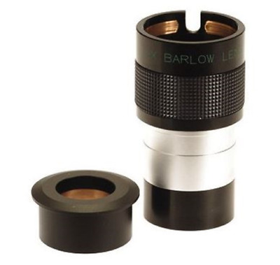 Skywatcher 2x ED Super Deluxe Barlow Lens 2 Inch With 1.25 Inch Eyepiece Adapter