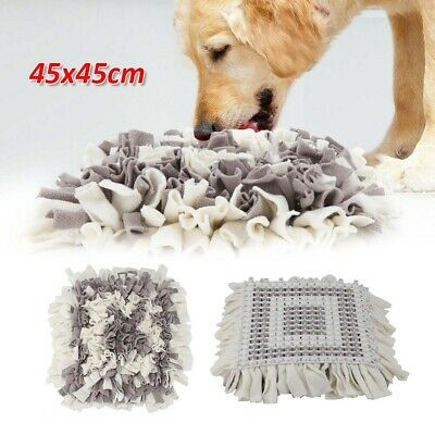 Pet Snuffle Mat Dog Cat Food Mat Training Washable Pressure Relieving Nosework