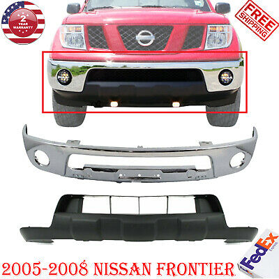 FOR 2005-2013 FRONTIER (For Steel Bumper Type) Front Bumper