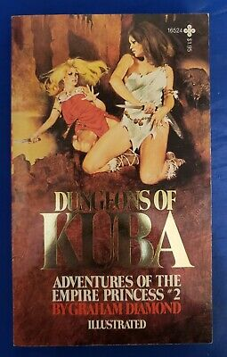 Dungeons Of Kuba Graham Diamond Playboy 1979 1st PB Empire Princess #2 Ill FNVF