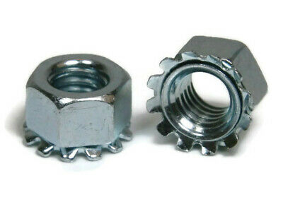 Metric Keps K Lock Nuts Class 8.8 Zinc Plated Steel K-Lock Nut - M3 - M10