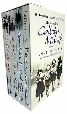 Jennifer Worth The Complete Call The Midwife Stories 4 Books BOX Set Collection