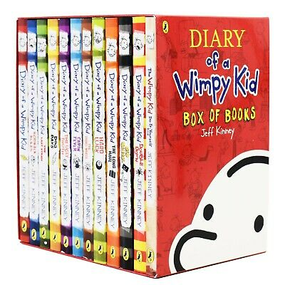 Diary of a Wimpy Kid Collection Jeff Kinney 12 Books Box Set Pack Double down