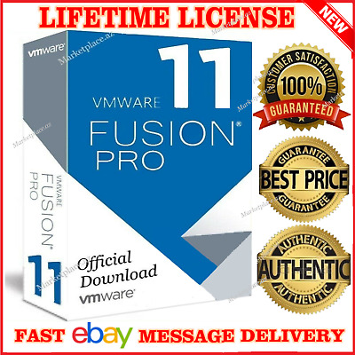 Vmware Fusion 11 Pro Mac 🔑lifetime Keys🔑official 2019 🔥 Instant Delivery🔥