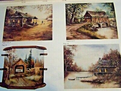 From The Heart Of The Country V7 Dorothy Dent 1985 Oil Landscapes Paint Book