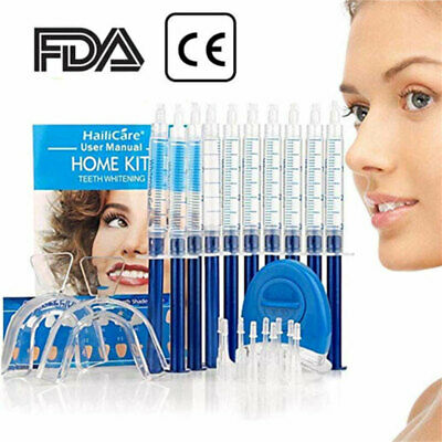 EXTRA STRONG TEETH TOOTH WHITENING GEL Kit PLAQUE BLEACHING SYSTEM ORAL CARE