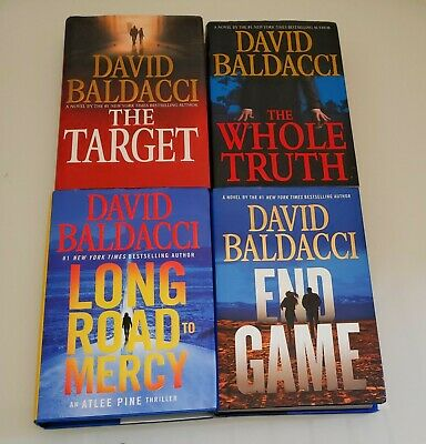 Long Road to Mercy ~ The Target ~ End Game ~ The Whole Truth David Baldacci LOT