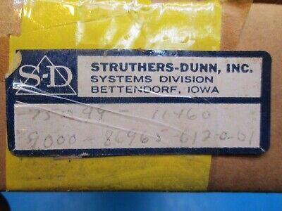 Struthers & Dunn SD 75049 Fused expansion card Micom 60363-H I/O board