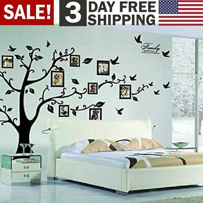 Large Family Tree Wall Decal Removeable Stickers Vinyl Art DIYGallery Home Decor