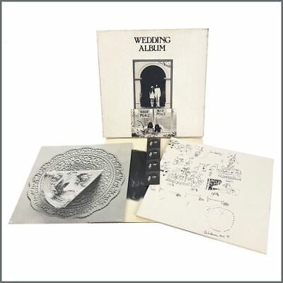 John Lennon & Yoko Ono 1969 Wedding Album Stereo LP Box Set (UK)