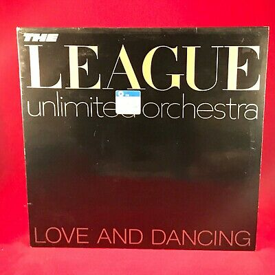 THE LEAGUE UNLIMITED ORCHESTRA Love & Dancing 1981 UK vinyl LP HUMAN EXCELLENT =