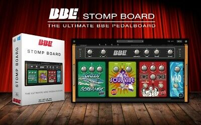 Bbe Pedalboard Vst Software Guitar Effect Pedals Free Fuzz Sonic Stomp Screamer