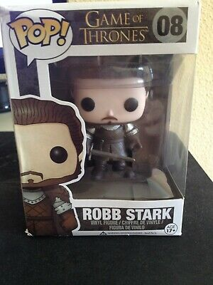 Game Of Thrones Pop Figura Estatua Funko  Robb Stark Serie Juego De Tronos