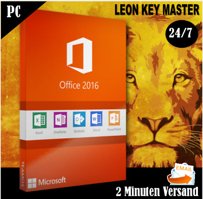 ✔ MS Office 2016 Pro Plus ✔ Professional Plus ✔ 32&64 VOLLVERSION ✔ Key per MAIL