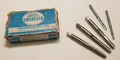 GREENFIELD Tap & Die Cutting Tool Set 1/4-20 NC H3 14025 5303 + MORE
