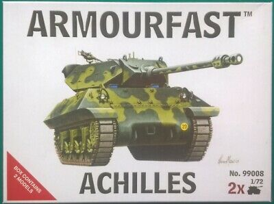 Armourfast 1//72 scale Sherman Firefly Tank Model Kit-Contient 1 modèle