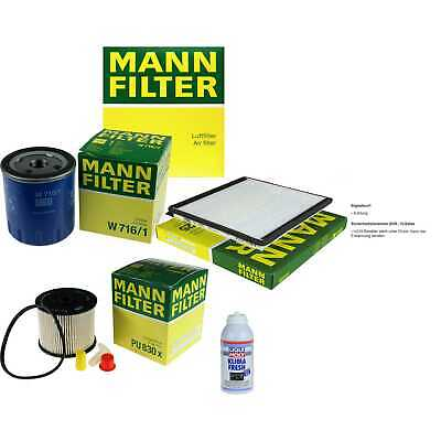 MANN Filter-Paket + Klima-Fresh für Citroën Berlingo Kasten Xsara Break