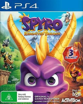 Spyro Reignited Trilogy PS4 Playstation 4 Brand New Sealed