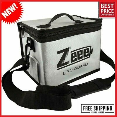 Zeee Lipo Battery Fireproof Explosionproof Safe Bag Large Capacity Storage Char