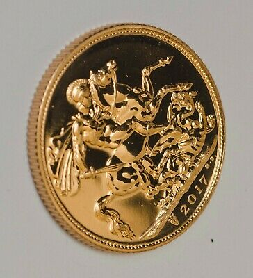 Gold Sovereign 2017 Unique 200th Anniversary Privy mark Bullion Royal Mint Coin