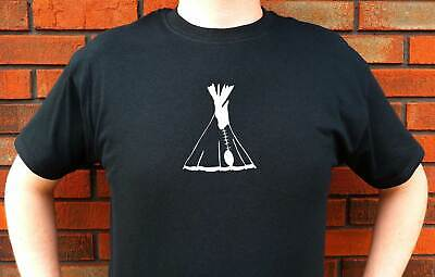 Indian Tipi Pee Wigwam Pees Graphic T-Shirt Tee Funny Cute