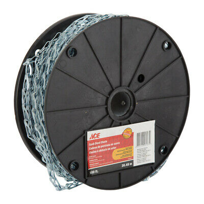 ACE 30.48M MULTI-USE SASH STEEL CHAIN REEL Gardening, Home improvement, DIY