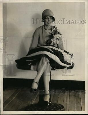 1929 Press Photo Betsy Ross,direct descendant of the famous Colonial dame