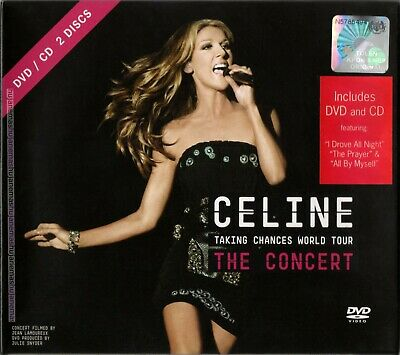 CELINE DION Taking Chances World Tour / The Concert MALAYSIA CD + DVD FREE SHIP