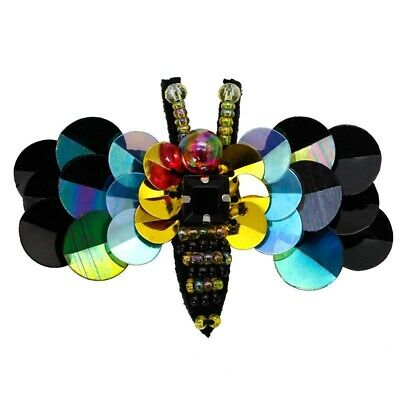 Colorful Bee Brooches Crystal Beads Women Costume Cute Insect Pins Party Jewelry