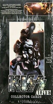 Kiss Alive! Collector Cards Box (NECA) Gold Record Inserts 2001 SEALED