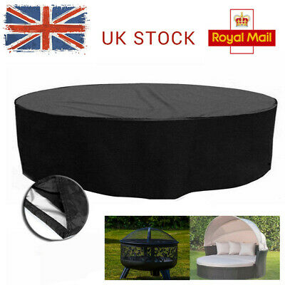 NEW Large Waterproof Cover Rattan Garden Patio Sunbed Furniture Lounger Sofa