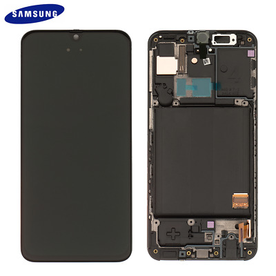 Original Samsung Galaxy A40 A405F LCD Display Touch Screen Glas Bildschirm Black