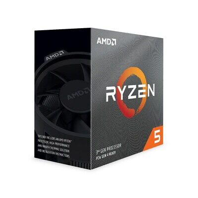 AMD Ryzen 5 3600X 6 Core Socket AM4 3.8GHz CPU Processor + Wraith Spire Cooler