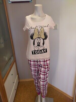 buy online 2319c a8b53 DAMEN SCHLAFANZUG DISNEY Mickey Mouse ❣️Gr Xl / 46 - 48 ...