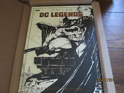DC Legends JIM LEE Artifact Edition HC Autographed Planet Awesome Exclusive
