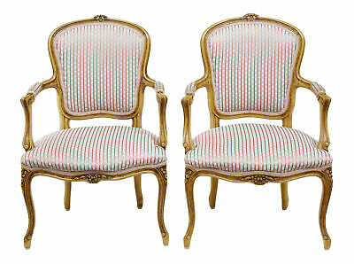 Pair Of 19Th Century French Fauteuil Armchairs