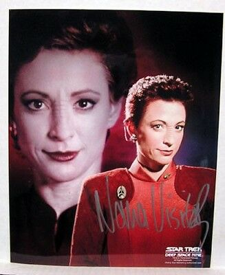 Nana Visitor (Kira) STAR TREK DEEP SPACE 9 AUTOGRAPH with COA
